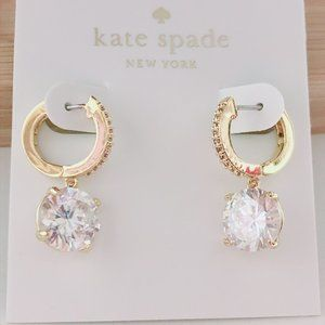 Kate Spade Simple Diamond Earrings